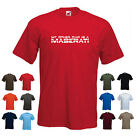 'My Other Car is a Maserati' Men's Super Car Funny Gift Birthday T-shirt