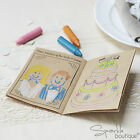 CHILDREN'S WEDDING ACTIVITY BOOKS -Kids Entertainment Kit Favours- Vintage/Kraft