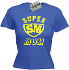 SUPERMUM T-SHIRT Christmas Present Mummy Birthday Gift Mother's Day 12 Colours!