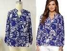 2014 NEW Lilly Pulitzer Elsa Tide Pools Silk Blouse Top BLUE XS