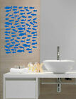 Wall Art Removable Vinyl Decal Sticker Nursery Bathroom Color Fish Sea Ocean