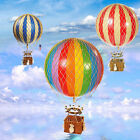 Ornamental Vintage Hot Air Balloons – Antique Retro Nursery Home Décor Hanging M