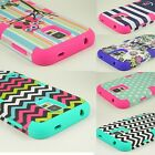 Tough Hybrid Shockproof Armor Protective Case Cover for Samsung Galaxy Phones