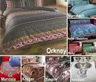Indian Style Elephant Quilt Duvet Cover & Pillowcase Bedding Bed Sets 4 Sizes