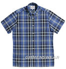 NEW BRUTUS Heritage Greatfit Check Shirt Blue/Black Big Sizes 2XL 3XL 4XL 5XL