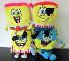"SPONGEBOB  * 4 CHARACTERS * SOFT TOY/BEANIE/DOLL/PLUSH - NEW/TAGS! - 8""/20CMS"