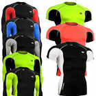 mens women compression mma rash guard  under baselayer shirts  UV top S~4XL