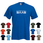 'My Other Car is a Saab' Men's Funny Car Gift Birthday T-shirt