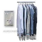 """20 Clear Polythene Clothes Covers Garment Storage Protector Bags 38"""" Hangerworld"""