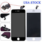 White+Black LCD Display + Touch Screen Digitizer Assembly For iPhone 6 4.7'' USA