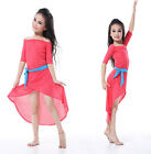 W031 NEW Belly Dance autumn and winter children Dress Bollywood Carnival 5color