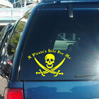 A Pirate's Life For Me Vinyl Decal fits car, laptop, glass transfer sticker K270