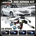 9006 HB4 9012 XENON HID Headlight Conversion Kit Bulbs & Ballasts 55W Bright US