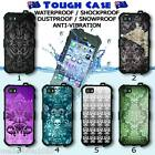 Tough Waterproof CASE Phone iPhone COVER Exclusive Damask Collection