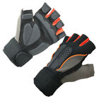 1Pair Sports Exercise Training Fitness Weight Lifting Gym Gloves Long Wrist Wrap