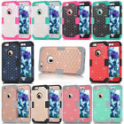 Crystal Bling Diamond Hybrid Hard Rugged Shockproof Case Cover Skin for iPhone