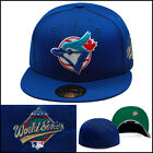 New Era 59fifty Toronto Blue Jays Fitted Hat 1993 World Series Side Patch MLB on Ebay