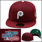New Era Philadelphia Phillies Fitted Hat Cap 1980 World Series Side Patch MLB on Ebay