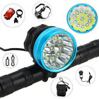 28000Lumen 11X XML T6 LED Head Front Bicycle Lamp Bike Light Headlamp Headlight