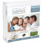 SafeRest Classic Hypoallergenic Waterproof Mattress Protector