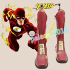 The Flash Barry Allen Cosplay Boots Shoes Handmade