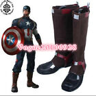 Captain America Avengers Age of Ultron Cosplay Boots shoes shoe boot