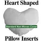 Heart Shaped Pillow Forms - 100% Polyester