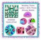 Fairy house mushroom toadstool door silicone mould - CHOOSE YOUR STYLE - fondant