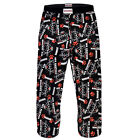 Anchorman Ron Burgundy Official Gift Mens Lounge Pants Pyjama Bottoms