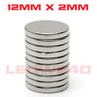 Strong Round Magnet 12mm x 2mm Rare Earth Neodymium No. 759