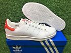 NEW ORIGINALS ADIDAS STAN SMITH OG MEN'S SHOES CASUAL SNEAKERS WHITE/RED M20326