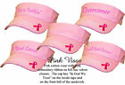 Lady Pink Ribbon Breast Cancer Awareness Women Rockpoint Custom Embroidered Cute
