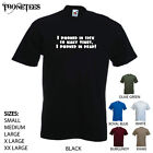 'I phoned in sick so many times, I phoned in dead' -  Funny mens T-shirt. S-XXL