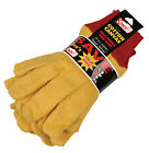 Kinco Yellow Chore Gloves 14 oz. 3 Pair Value Pack Choose Your Size Style 814