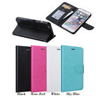 Luxury Magnetic Pearlized Card Wallet Flip Case Cover for Apple iPhone 6 6S Plus