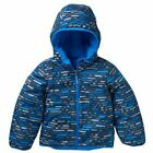 NWT $100 Boys Columbia Dual Front Reversible Jacket Coat 6/7 Camo to Brown