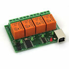 USB Relay 4 Channel Programmable Computer Control For Smart Home - v2
