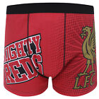 Liverpool Football Club Official Soccer Gift Mens Crest Boxer Shorts