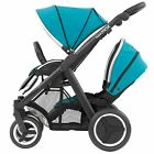 BabyStyle Oyster Max Tandem Pushchair And Colour Pack - Black Chassis