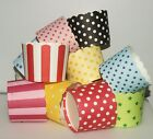 24 Baking cups cupcake cases Stripes/Polka Dots/Chevron POPCORN