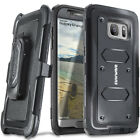COVRWARE® Samsung Galaxy S7 Edge Holster Case  + Full Coverage Screen Protector
