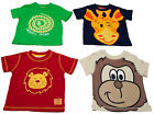 Baby Boy T Shirt Top New Animal Print Toddler Cotton Ages 6-12M 12-18M 18-23M