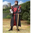Medieval Falworth Knight Tunic with Red Griffin Design. Costume or Re-enactment