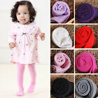 Внешний вид - Solid Color Baby Toddler Infant Kids Girls Warm Tights Stockings Pantyhose