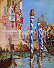 Venice by Manet - CANVAS OR PRINT WALL ART  PRINT