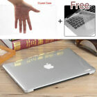 Crystal Clear Case+Keyboard Cover for Apple Macbook Air Pro Retina 11/12/13/15""