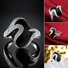 Women New Fashion Silver Plated Finger Claw Ring Personality Popular Jewelry