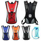 backpack with water pouch - Cycling Backpack Water Bag Hiking Pouch Climbing Hydration Pack With Bladder New