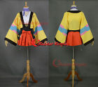 Kabaneri of the Iron Fortress Mumei COSplay Costume Kimono Plain Clothes Dress