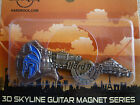 Hard Rock Cafe 2016 ATHENS 3D SKYLINE-MONUMENTS SERIES GUITAR MAGNET Brand New